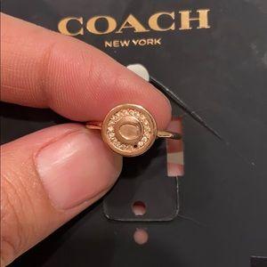 Coach ring